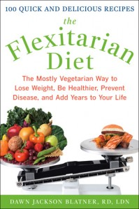 Image of the cover for the book 'The Flexitarian Diet' by Dawn Jackson Blatner, Registered Dietitian