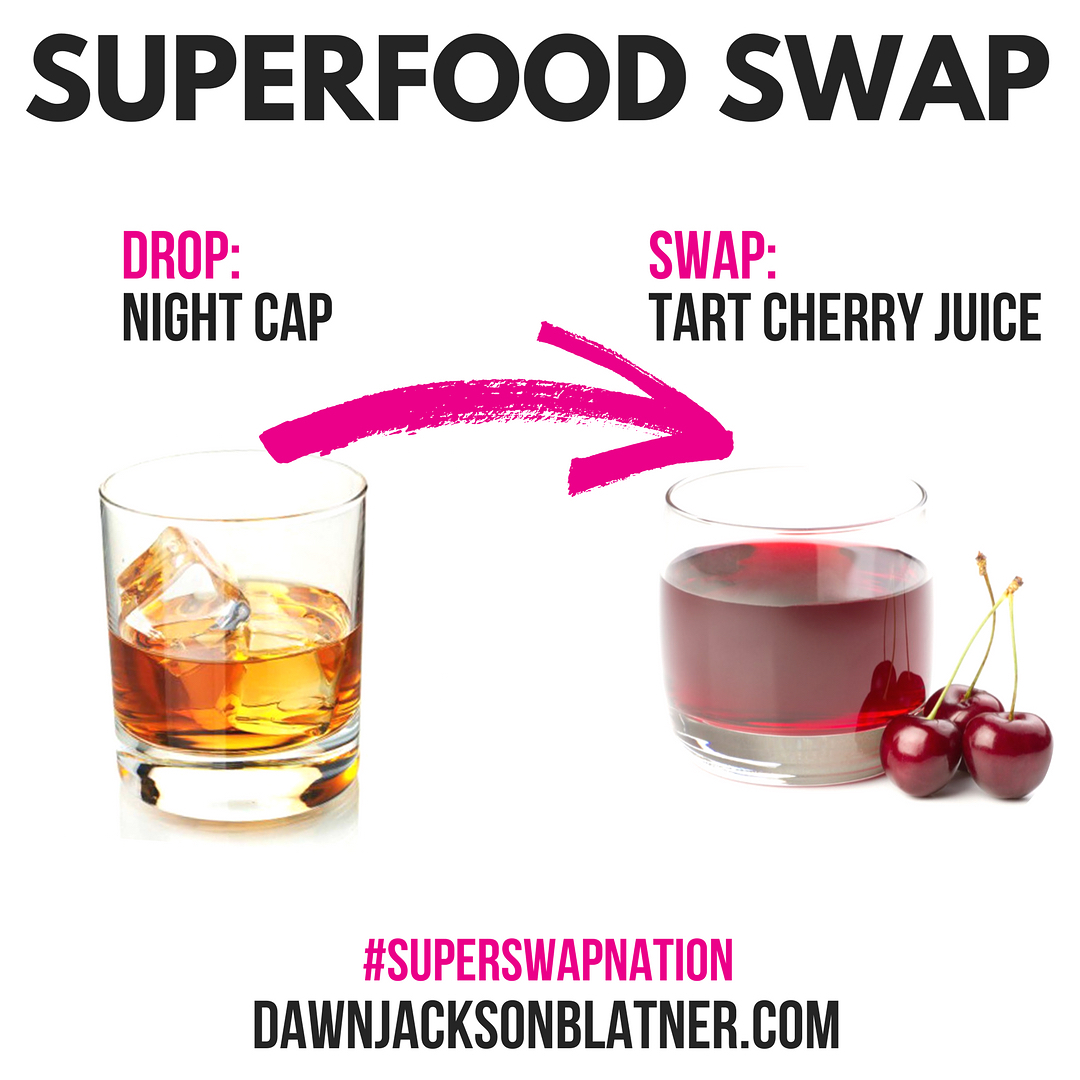 Sunday Superfood Swap Nix the nightcap and catch some s!hellip
