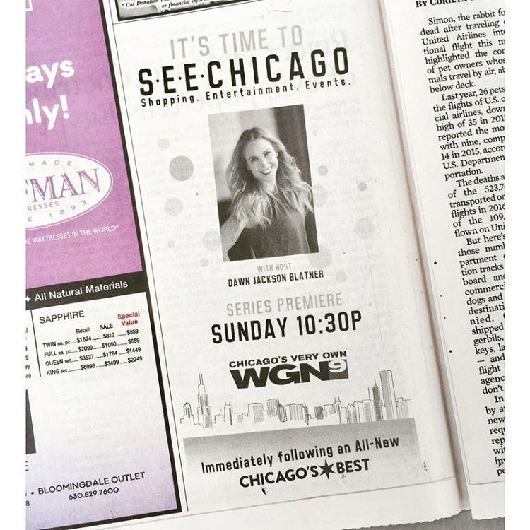 Thanks for the shout out chicagotribune in todays newspaper! Ihellip