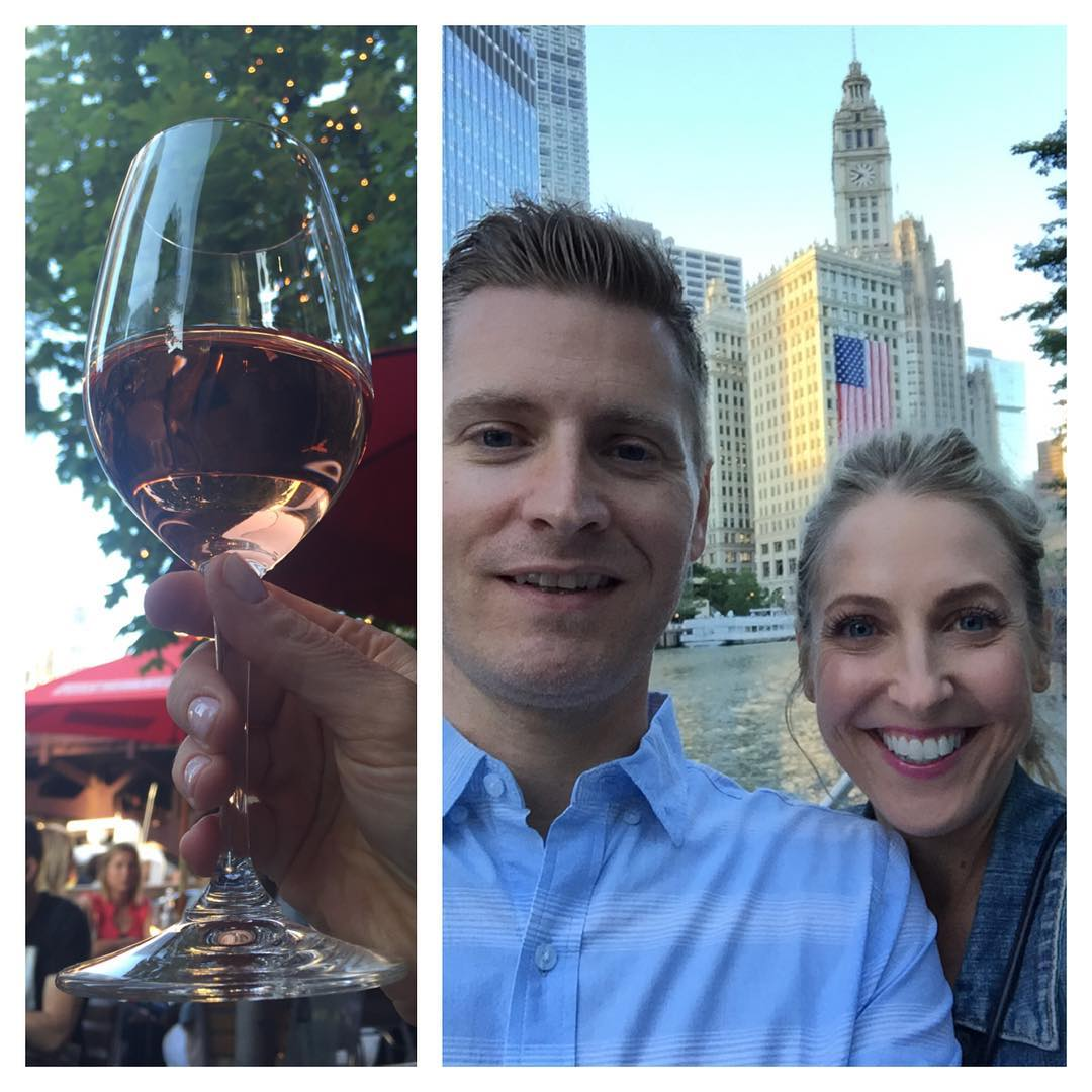 America Chicago Summer Ros citywinerychi chicagoriverwalk lovers
