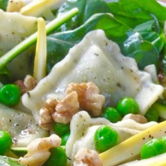 Summer Veg & Ravioli Salad