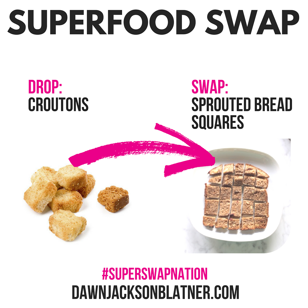 Crush those croutons  you dont need them! Croutons hellip