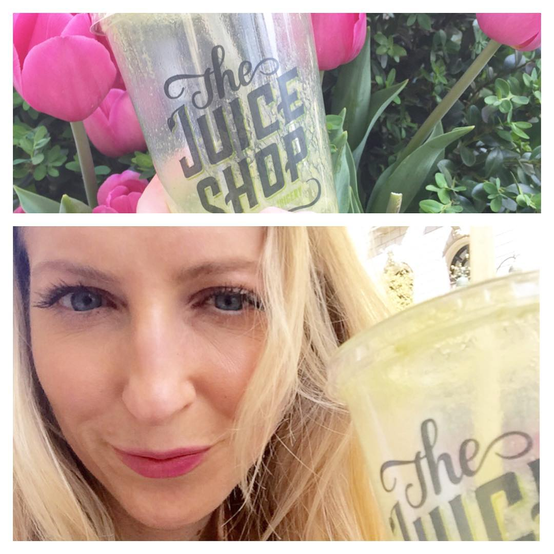 NYC Spring Tulips GreenDrink GirlBoss
