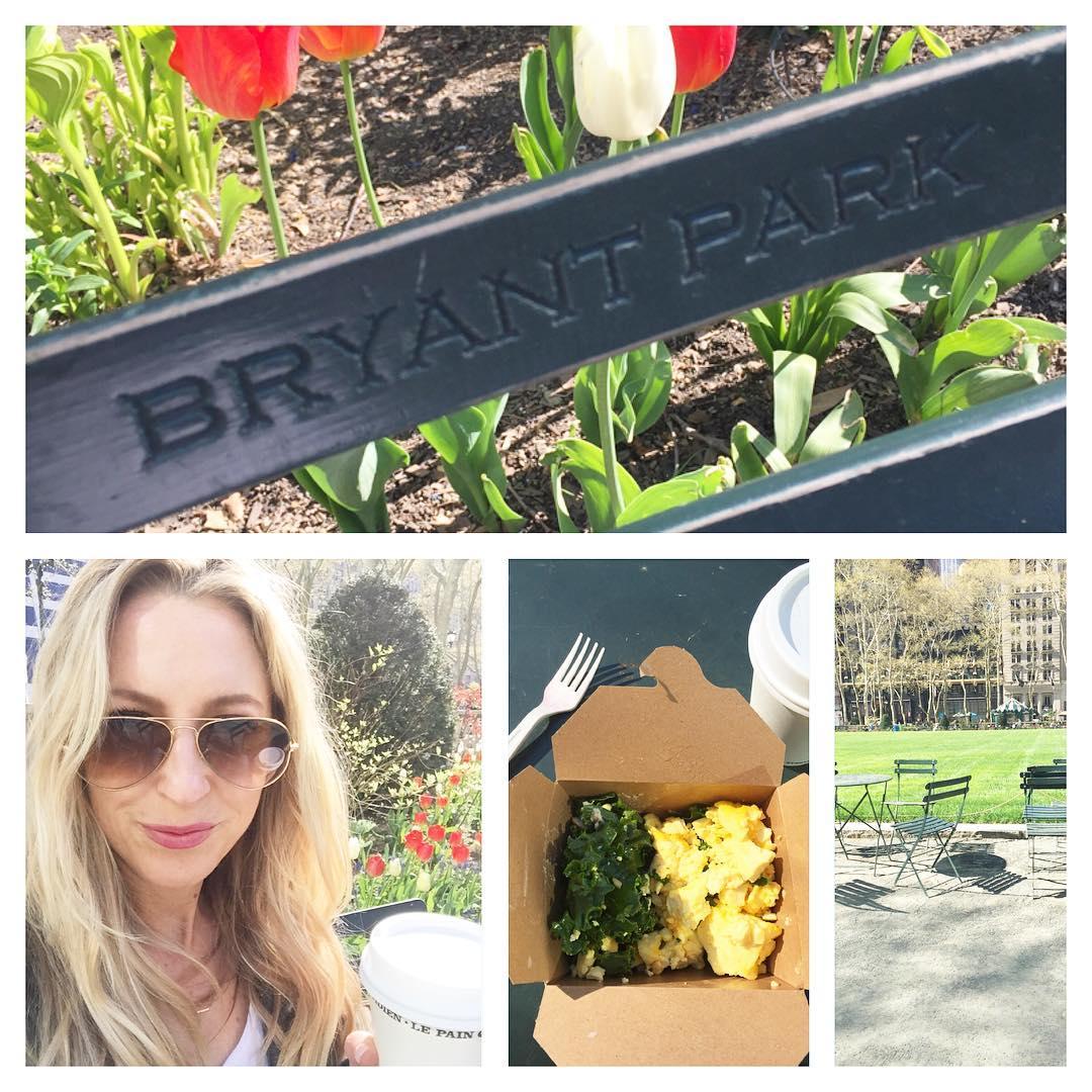 Kale amp Egg Breakfast Picnic NYC spring worktravel bossbabehellip