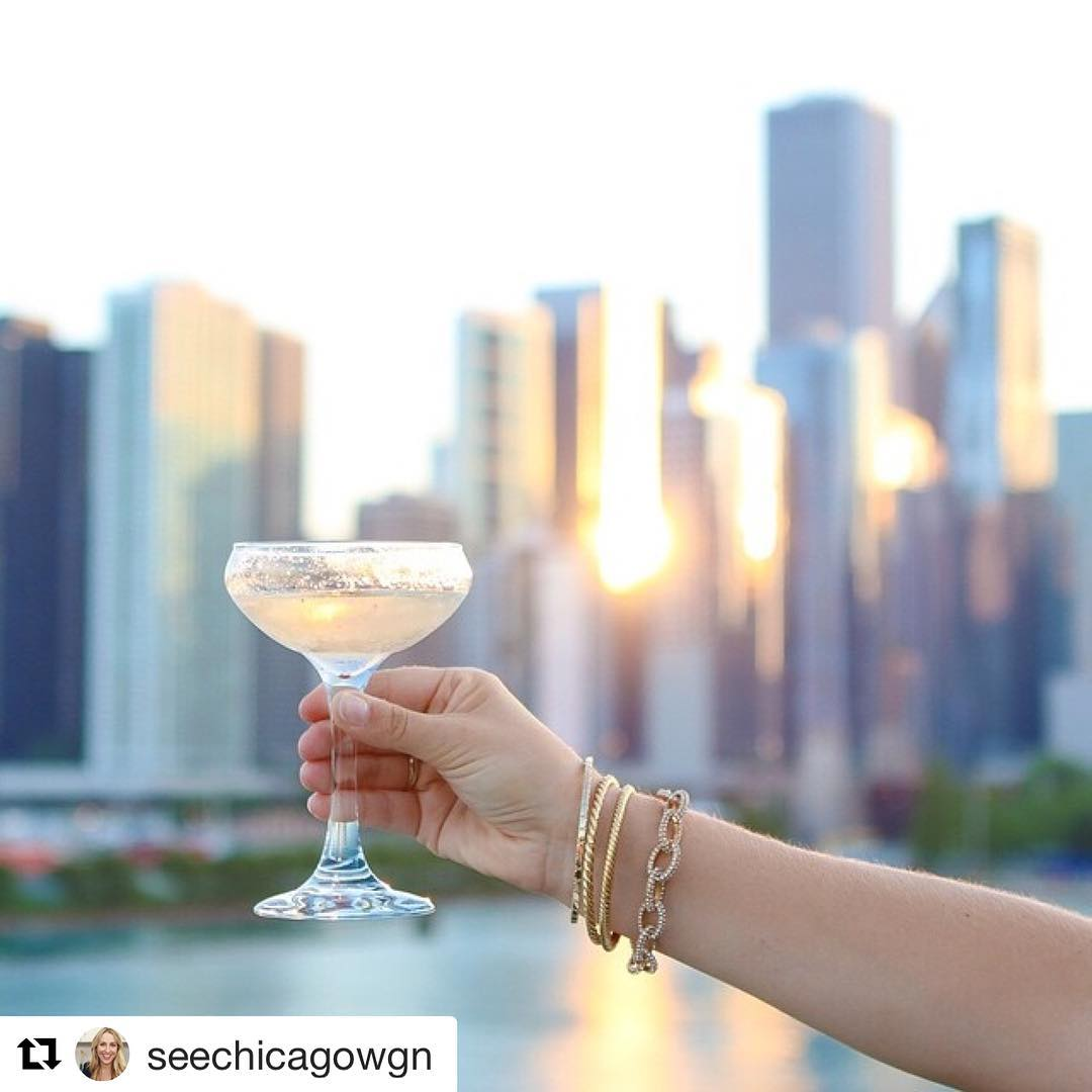 Repost seechicagowgn  Cheers to a three day weekend! Wellhellip