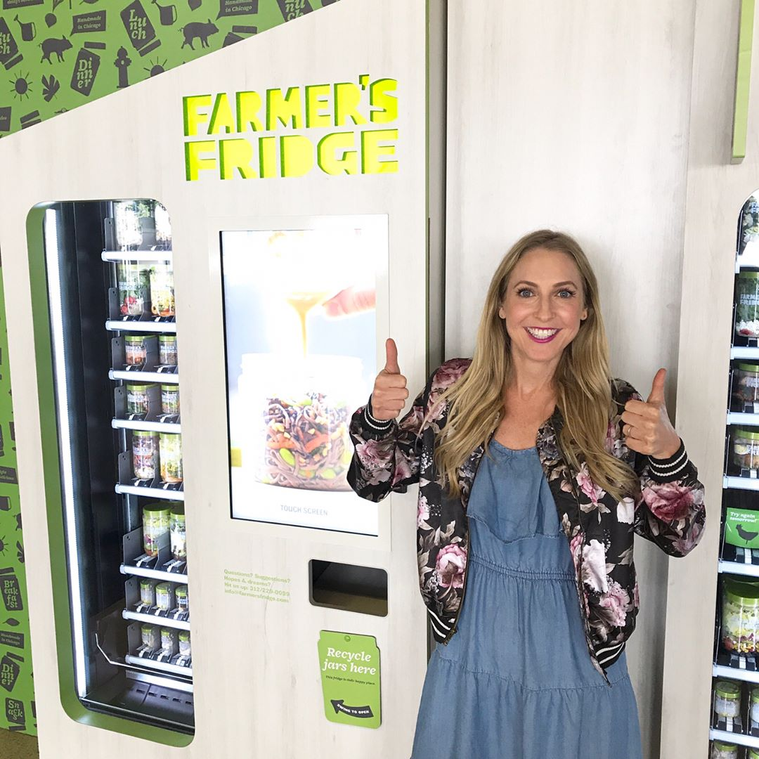 Thanks farmersfridge for having a fridge in Terminal 3 athellip