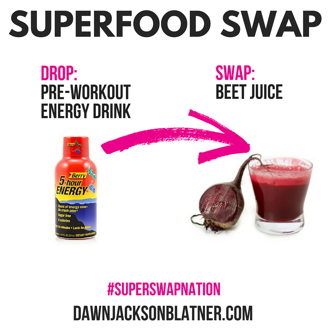 Happy day! Time for a new Superfood Swap Get energizedhellip