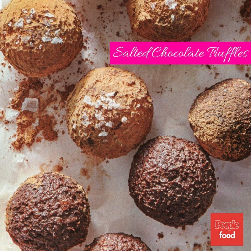 Spoil your Valentine with my salted chocolate truffles featured inhellip