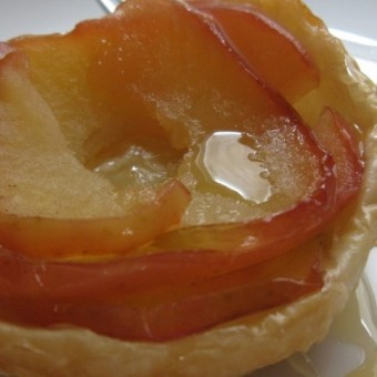 Three-Ingredient Honey Apple Tart