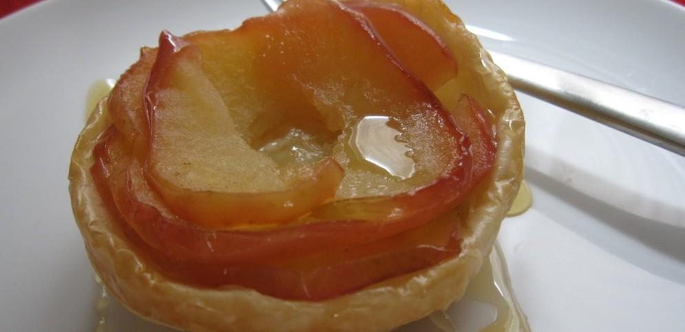 Three-Ingredient Honey Apple Tart