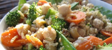 Brown Rice Lunch Bowl