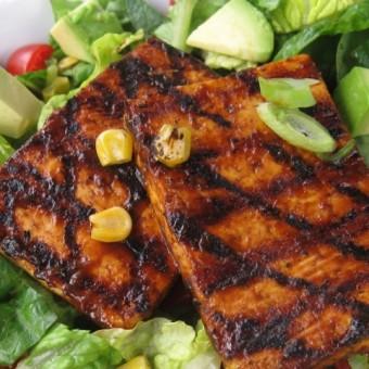 Chipotle BBQ Tofu Salad