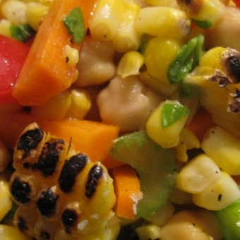 Grilled Corn Summer Salad