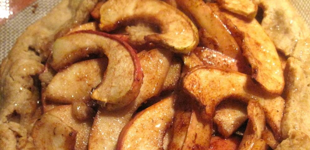 Honey Apple Galette