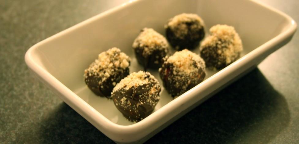 Dark Chocolate Covered Grapes
