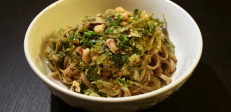 Shaved Brussels Sprouts Pasta