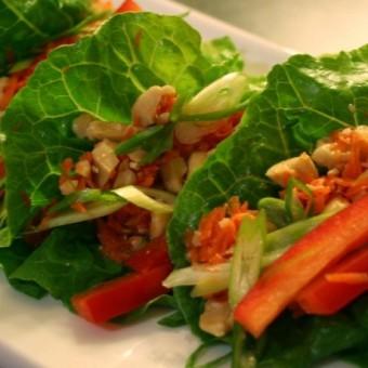 Thai Lettuce Tacos