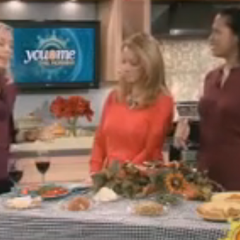 Lower Calorie Thanksgiving Feast (WCIU)