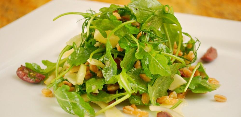 Fall Farro Salad