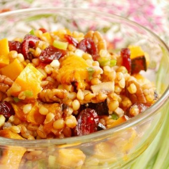Butternut Wheatberry Salad