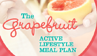 The Grapefruit Active Lifestyle Meal Plan is HERE!