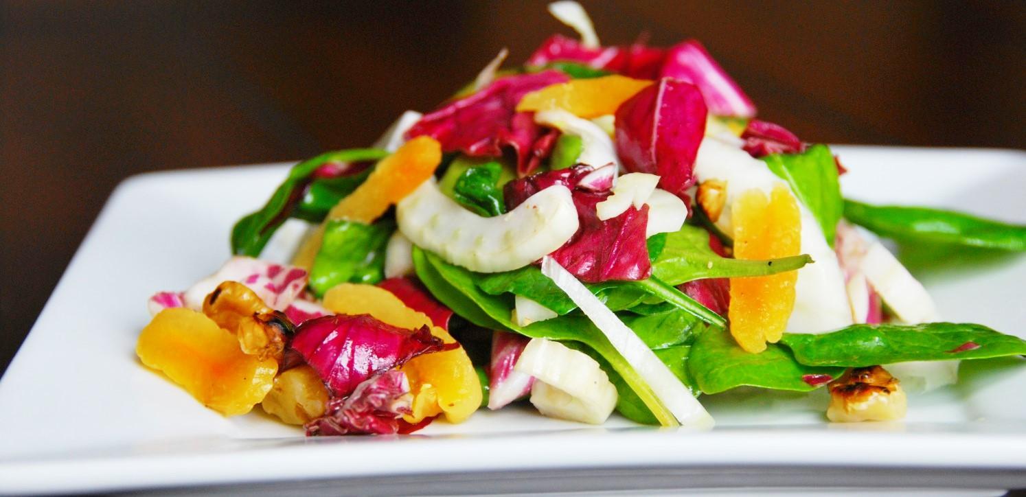Fennel Radicchio Salad