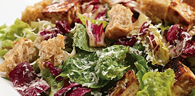 DOLE Miso-Garlic-Roasted Tofu Caesar Salad