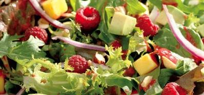DOLE Raspberry Avocado & Mango Salad