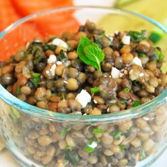 Simple Lentil Salad