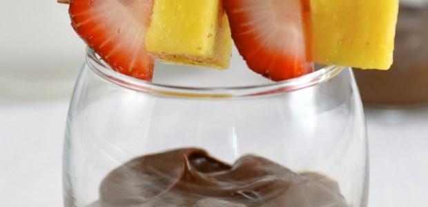 Avocado Chocolate Mousse Shooter