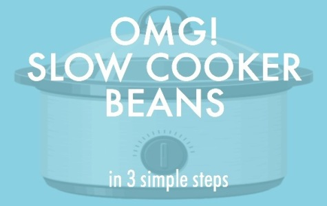 OMG! Slow cooker beans.