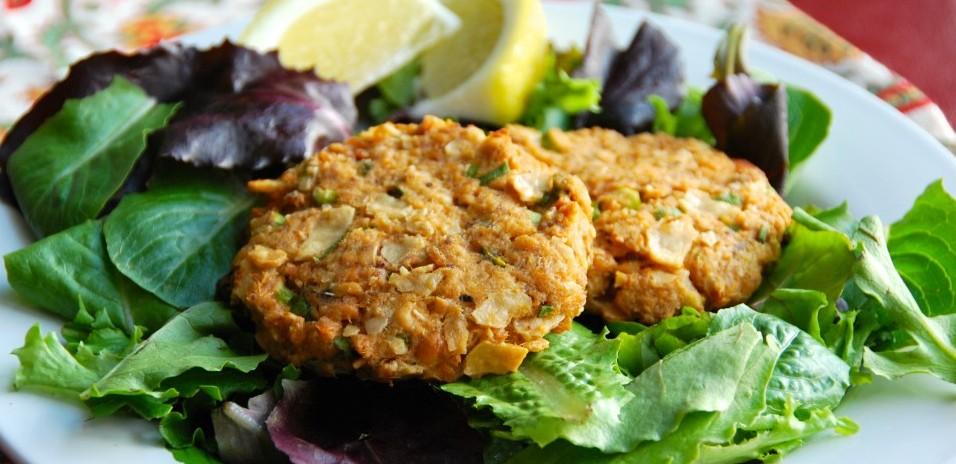 Gluten-Free Salmon Cakes