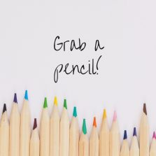 Grab a pencil.