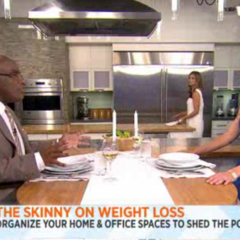 Lose Weight By Organizing (Today Show)