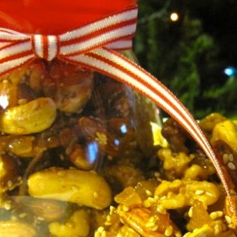 Candied Ginger Nuts