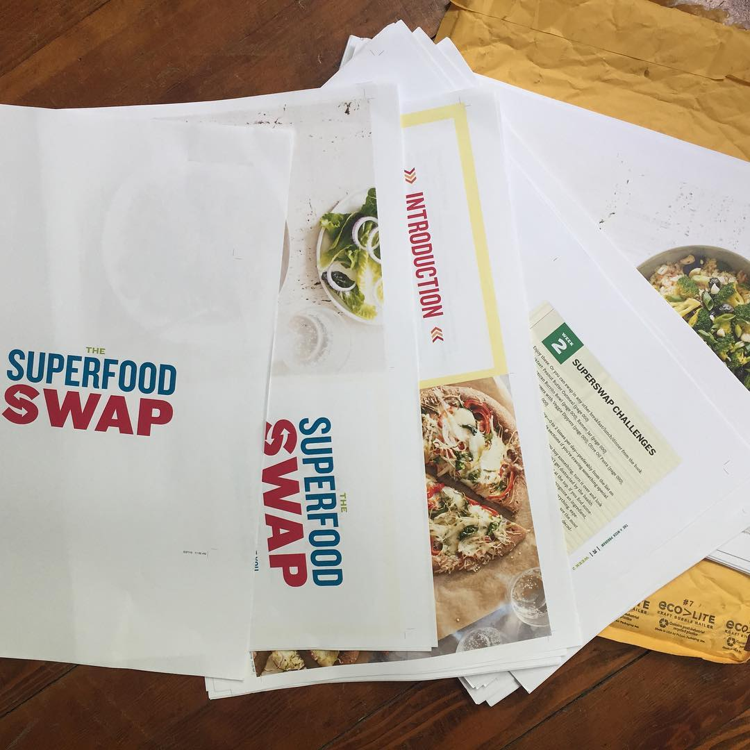 EDIT TIME! Superfood Swap! Book Coming Soon! SuperSwap