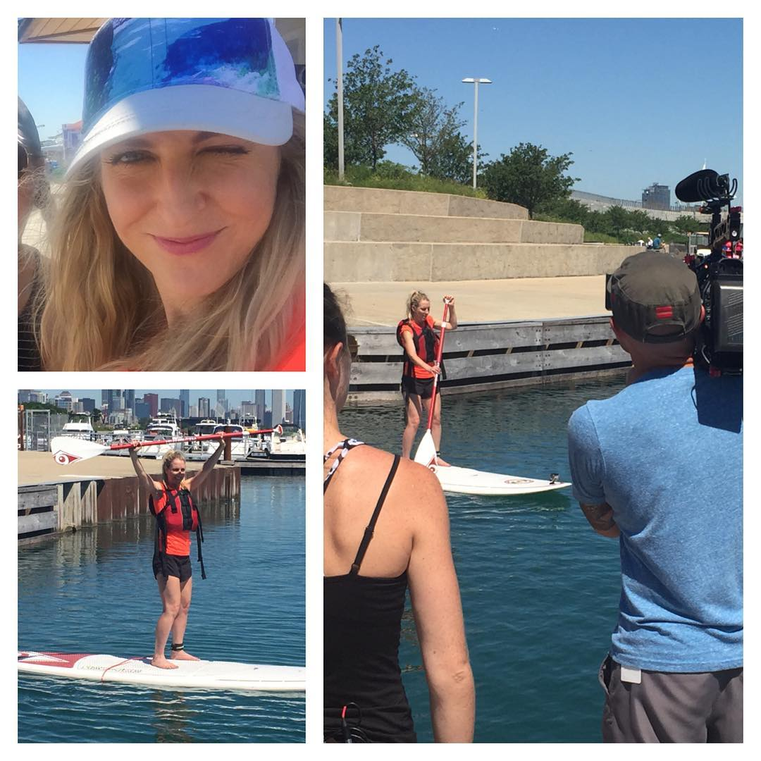 GLORIOUS! Me the paddle board SCAREDYCAT turns PRO!