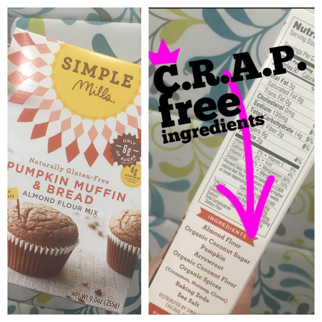 Delish! Thx simplemills for the Superfood Swap approved PUMPKIN muffinhellip