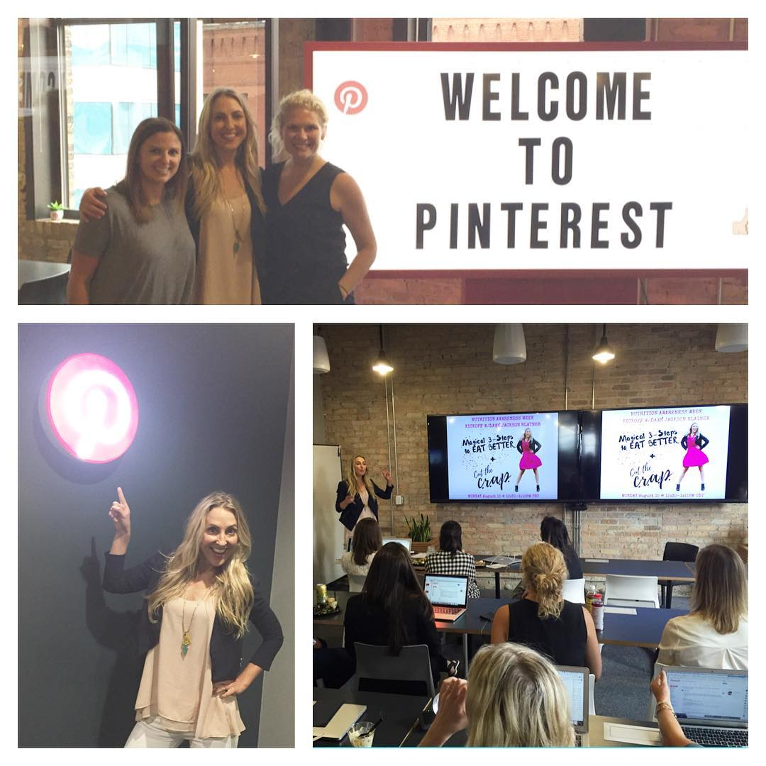 Best audience ever! Thx pinterest Chicago office for having mehellip