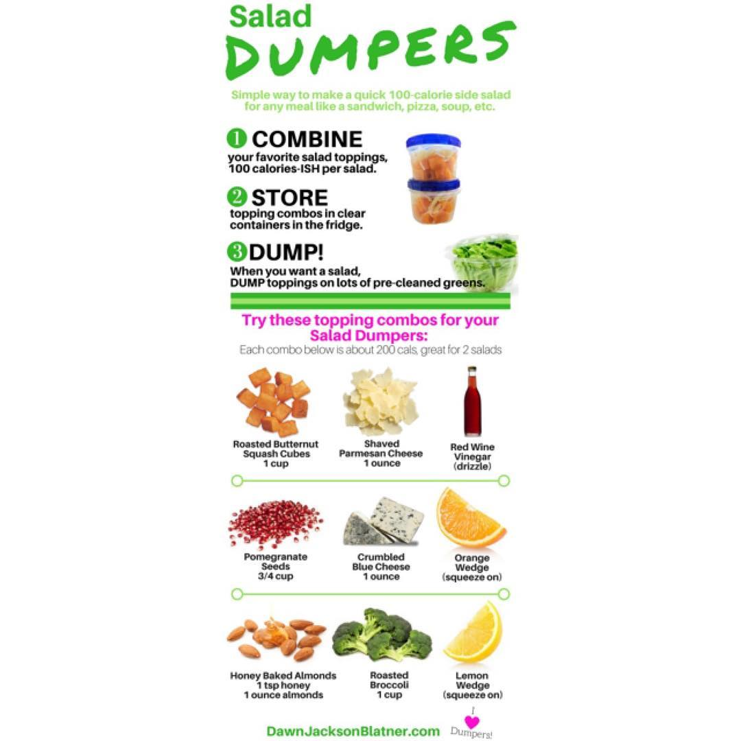 Let me introduce you to SALAD DUMPERS! Easiest way tohellip