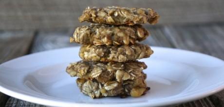 3-Ingredient Banana Bread Cookies