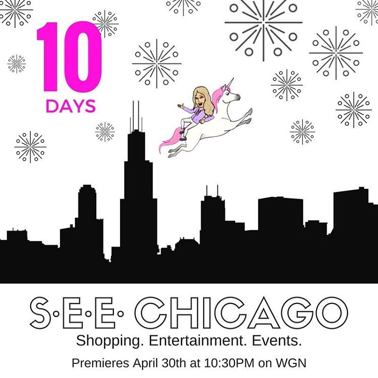 Sooooo EXCITED! 10 days until the PREMIERE of SEE Chicagohellip