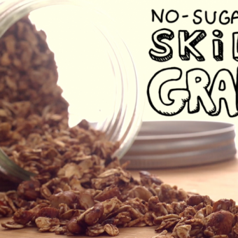 No-Sugar-Added Skillet Granola