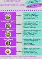 5-Ingredient Superfood Salads