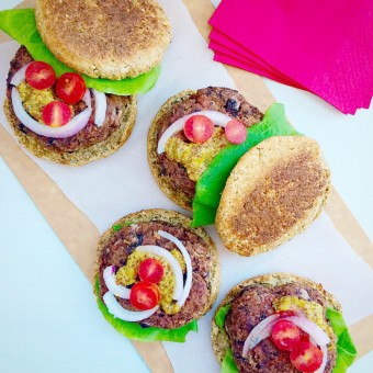Superfood Beet Burgers