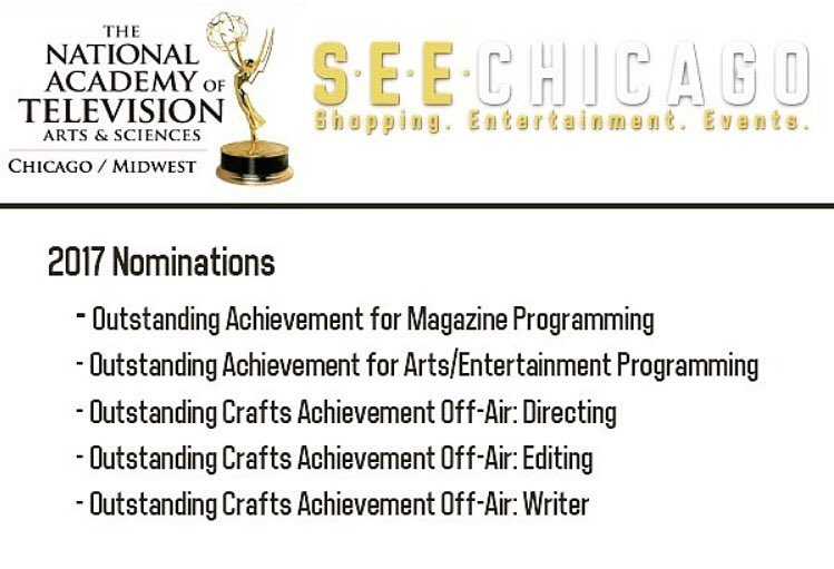 WOW ! 5 Emmy nominations for our show! So proudhellip