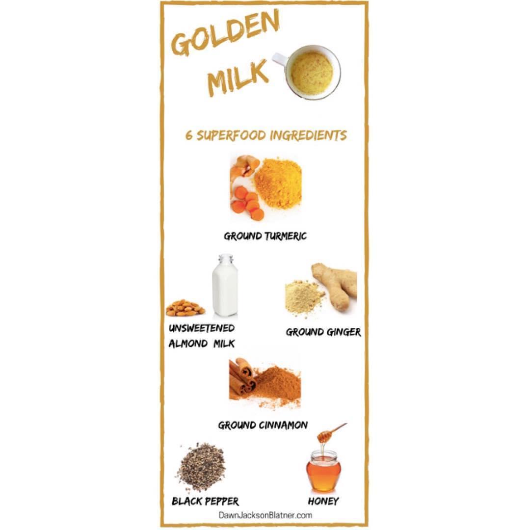 Got Golden Milk? Read this weeks NutritionWOW superswap