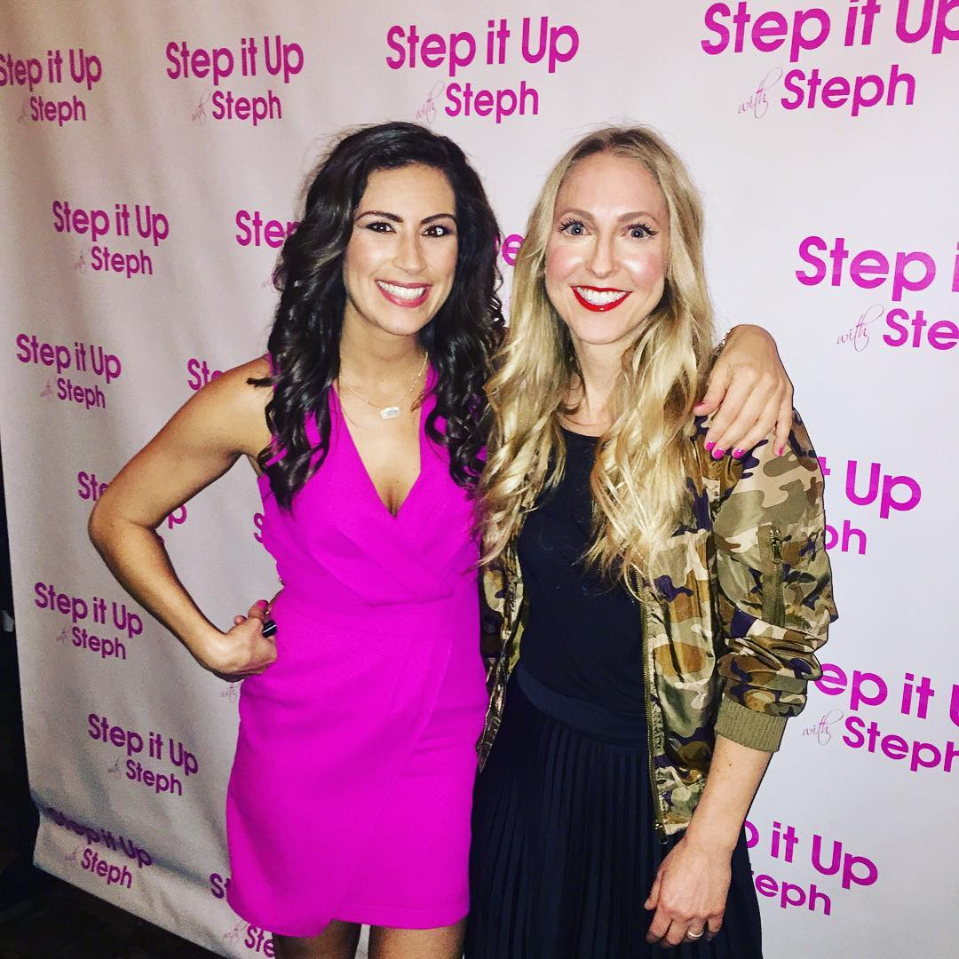 Congrats stepitupwithsteph on the new show! chicagotvhostsunite