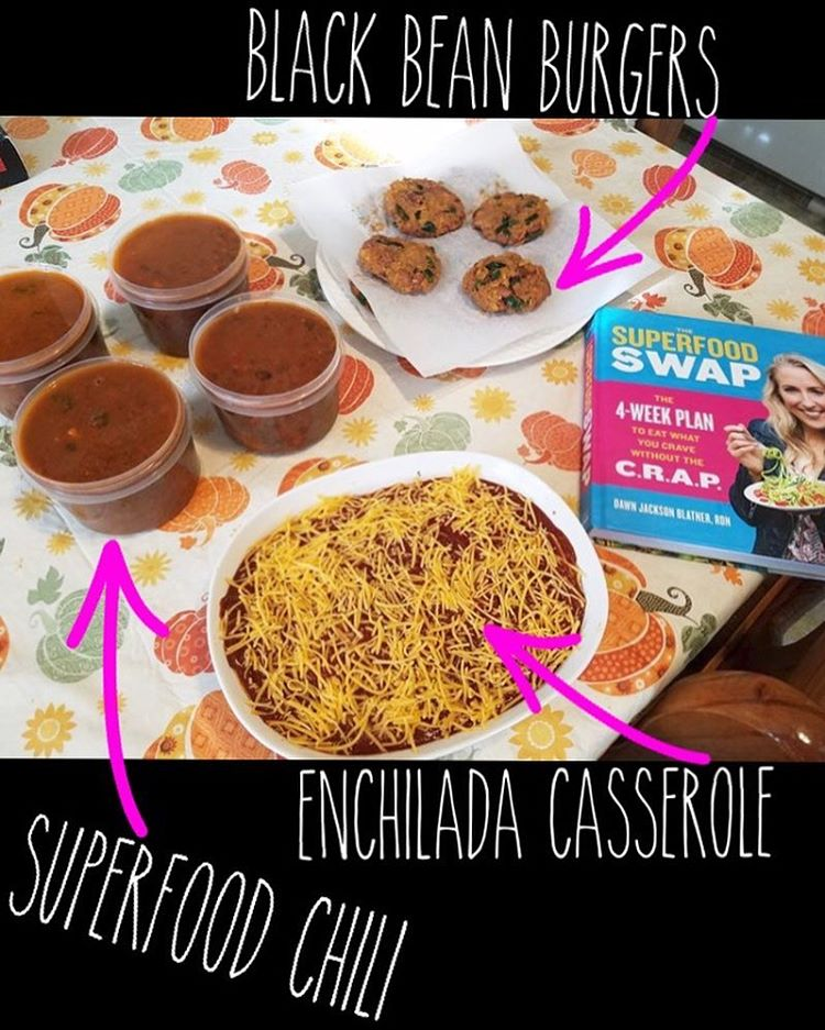 This pic is from fititalianmama Shes a SuperSwap meal prephellip