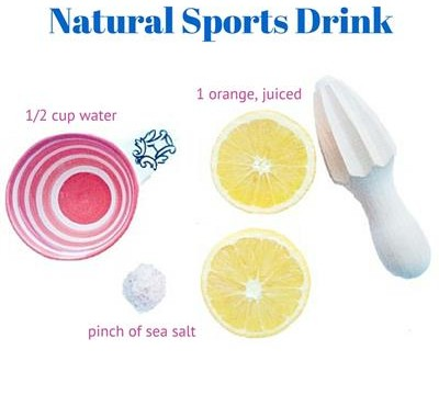 Natural Sports Drink